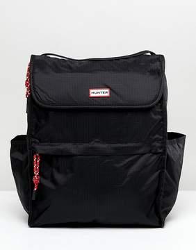 Hunter Packable Black Backpack