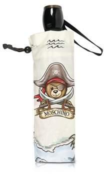 Moschino Women's Grey Polyester Umbrella.