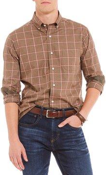 Daniel Cremieux Graph Herringbone Long-Sleeve Woven Shirt