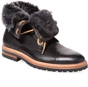 Gordon Rush Men's Shearling Stacked Heel Boot