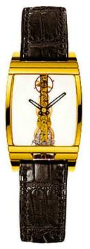 Corum Golden Bridge 18K Yellow Gold Mens Watch