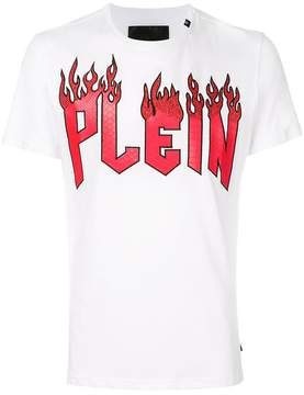 Philipp Plein Plein In Flames T-shirt