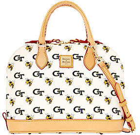 Dooney & Bourke NCAA Georgia Tech UniversityZip Zip Satchel - ONE COLOR - STYLE