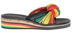 Chloé Women's Multicolor Leather Sandals.