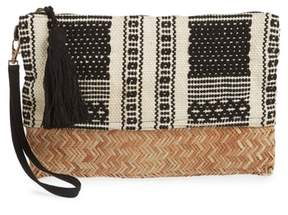 Sole Society Fabric Clutch