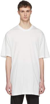 Julius White Lace-Up T-Shirt