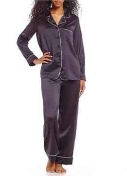 Cabernet Satin Pajamas