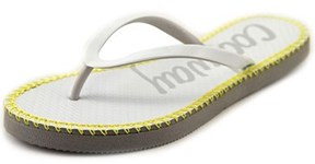 Coolway Sirope Women Open Toe Synthetic White Flip Flop Sandal.