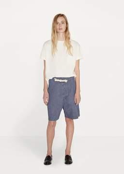 Chimala Unisex Drawstring Shorts Faded Indigo Size: Small