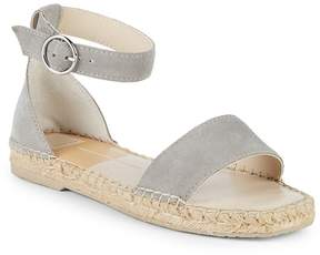 Dolce Vita Women's Bayley Leather Ankle Strap Espadrilles