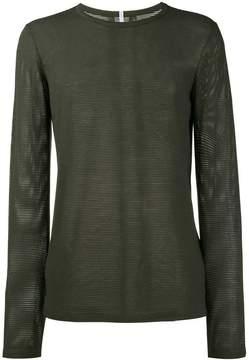 Lot 78 Lot78 mesh long sleeve t-shirt