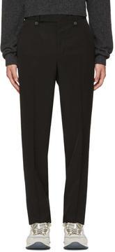 Lanvin Black Loose Fit Trousers