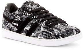 Gola Equipe Embossed Leather Sneaker
