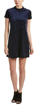 Eight Sixty Velvet Brocade Shift Dress.