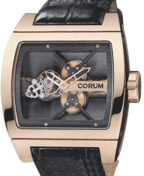 Corum Ti Bridge Tourbillon Limited 18K Rose Gold 42mm x 53mm Watch