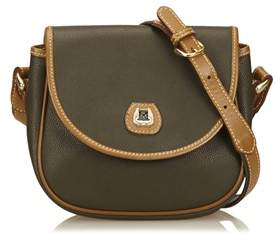 Lancel Pre-owned: Embossed Leather Shoulder Bag.