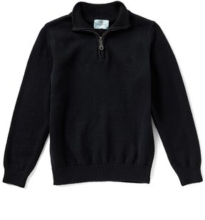 Class Club Little Boys 2T-7 Quarter-Zip Sweater
