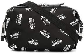 Moschino Milano logo belt bag