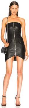 RtA Kenzie Leather Dress