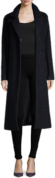 Andrew Marc Women's Lela Wool Tall Top Coat