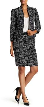 Nine West Jacquard Slim Skirt