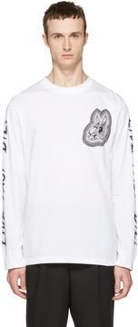 McQ White Long Sleeve Live Fast Die T-Shirt
