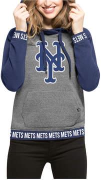 '47 Women's New York Mets Revolve Hooded Sweatshirt