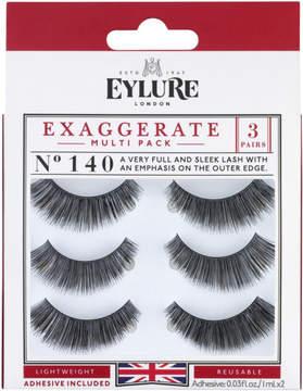 Eylure Naturalite Exaggerate Eyelashes Multi-pack 140