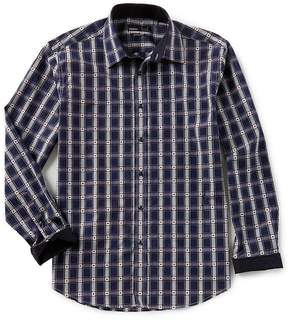 Buffalo David Bitton Quieti Modern-Fit Plaid Long-Sleeve Woven Shirt