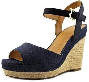 Tommy Hilfiger Kali 3 Women US 9.5 Blue Wedge Sandal