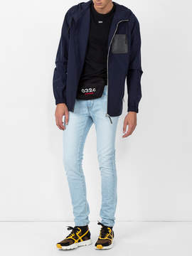 Loewe Hooded lightweight jacket