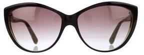 Alexander McQueen Cat-Eye Gradient Sunglasses