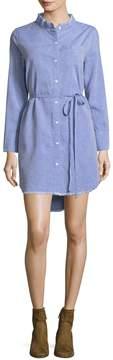 DL1961 Women's Prince & Mott Buttoned Shirt Dress