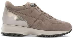 Hogan metallic heel sneakers