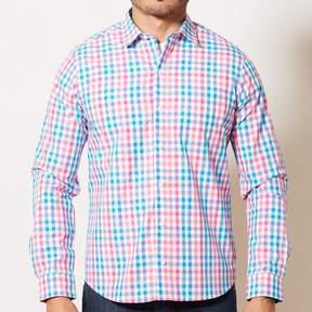 Blade + Blue Red, Aqua & White Check Shirt - GUNNER