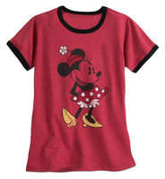 Disney Minnie Mouse Classic Ringer Tee for Women