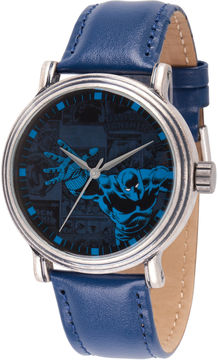 Marvel Mens Blue Strap Watch-Wma000195