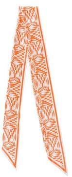 Marc Jacobs Silk Printed Shawl