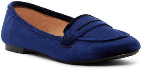 Madden-Girl Penniee Velvet Slip-On Flat