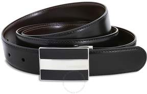 Montblanc Meisterstuck Reversible Leather Belt - Black/Brown
