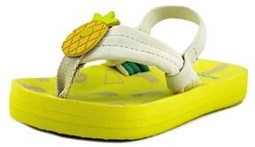 Reef Little Ahi Fruits Open Toe Synthetic Flip Flop Sandal.