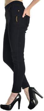 Angelina Navy Pocket Jeggings - Women & Plus