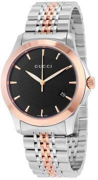 Gucci Timeless Red Gold PVD Men's Watch