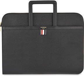Thom Browne Leather document briefcase