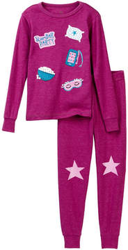 Petit Lem Slumber Party Long Sleeve Pajama Set (Toddler, Little Girls, & Big Girls)