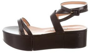 Alexa Wagner Leather Platform Sandals