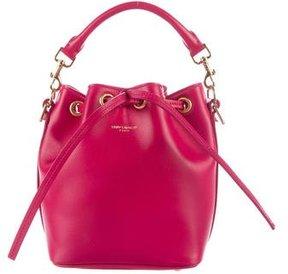 Saint Laurent Small Emmanuelle Bucket Bag - PINK - STYLE