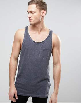 Esprit Oil Wash Tank with Chest Pocket
