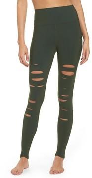 Alo Women's Ripped Airbrush Leggings