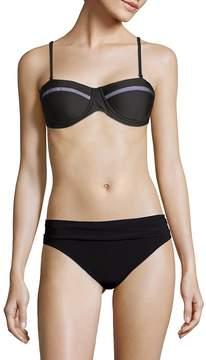 6 Shore Road Women's Chloe Mesh Bandeau Bikini Top